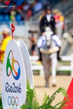 NZL-Clarke Johnstone rides Balmoral Sensation during the Team Jumping Final for the Equestrian Eventing. Rio 2016 Olympic Games, Centro Olímpico de Hipismo, Rio de Janeiro, Brazil. Tuesday 9 August. Copyright photo: Libby Law Photography