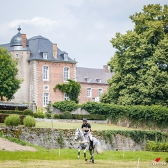 NZL-Clarke Johnstone rides Balmoral Sensation during the ERM CIC3* Cross Country. Final-4th. 2018 BEL-Concours Complet International D'Arville. Sunday 24 June. Copyright Photo: Libby Law Photography